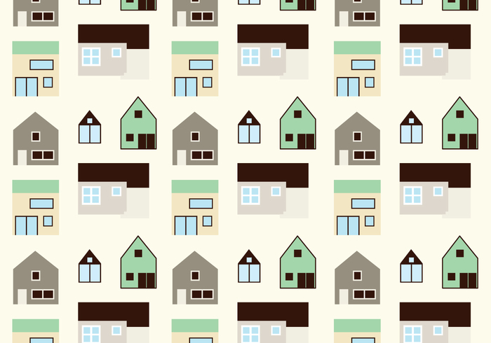 houses different shapes and sizes
