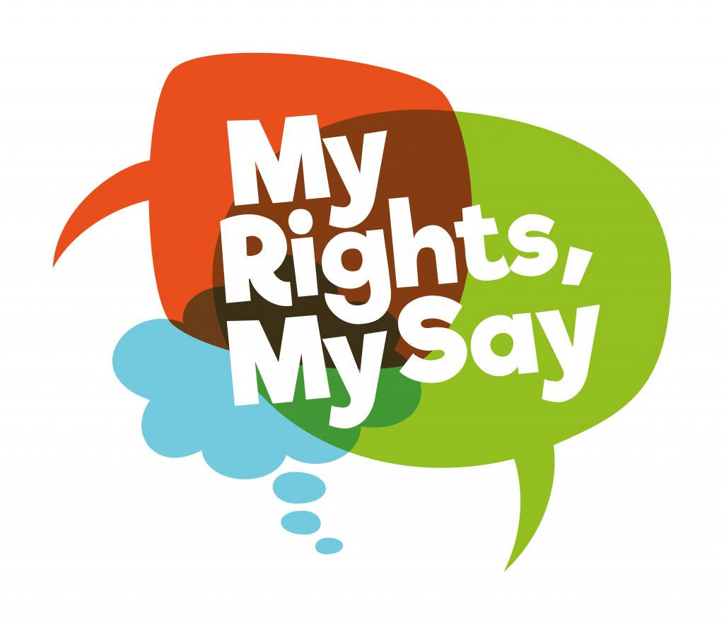 My Rights My Say logo