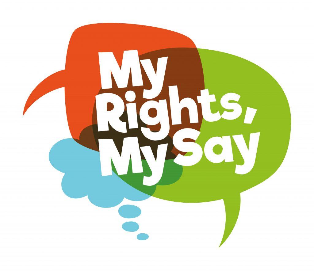 My Rights My Say logo