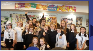 Pupils who made BBC film about being safe online